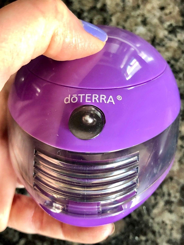 Purple DoTerra Essential Oil Diffuser
