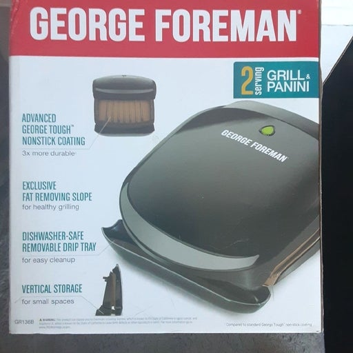 George Foreman 2 serving grill