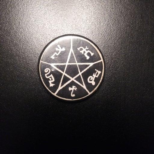 Pentagram Pin