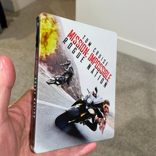 Mission Impossible Rogue Nation Steelbox Bluray