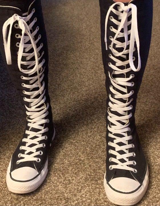 Converse Knee-High Fashion Sneakers   Mercari