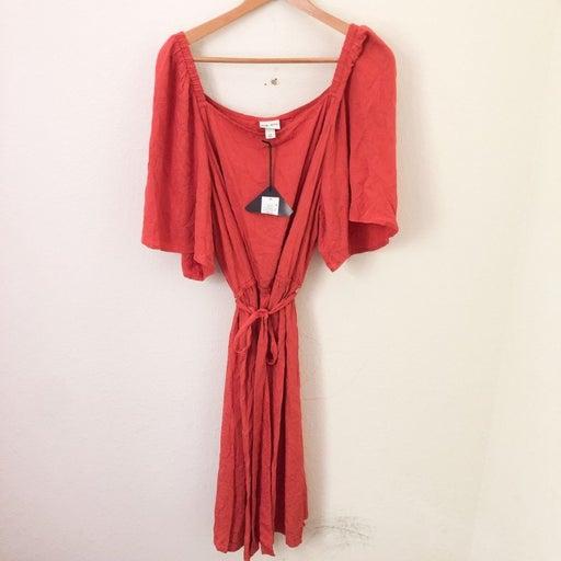 NWT Ava & Viv Square Neck Dress Size 4X