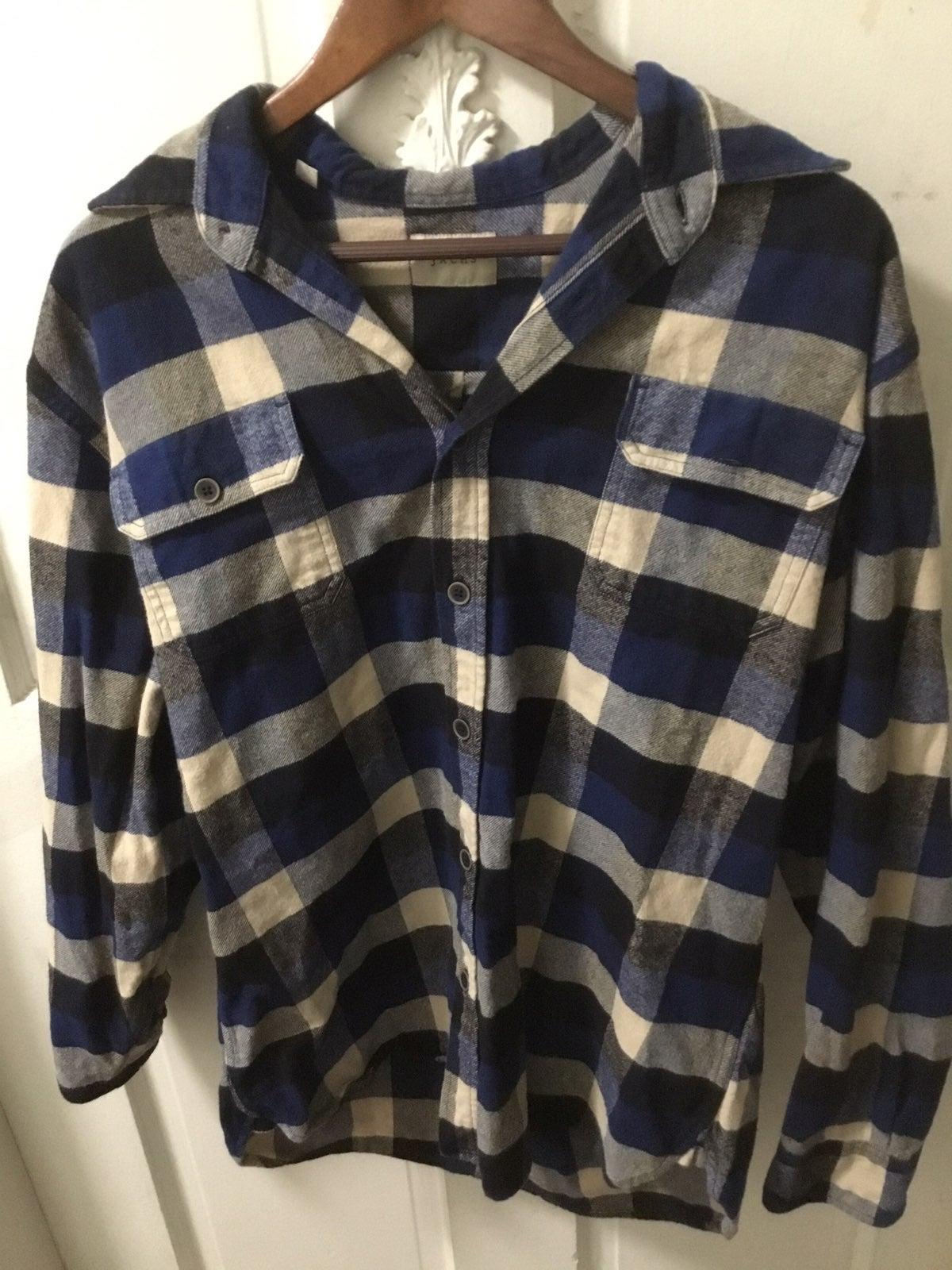 Jachs mens large flannel button up