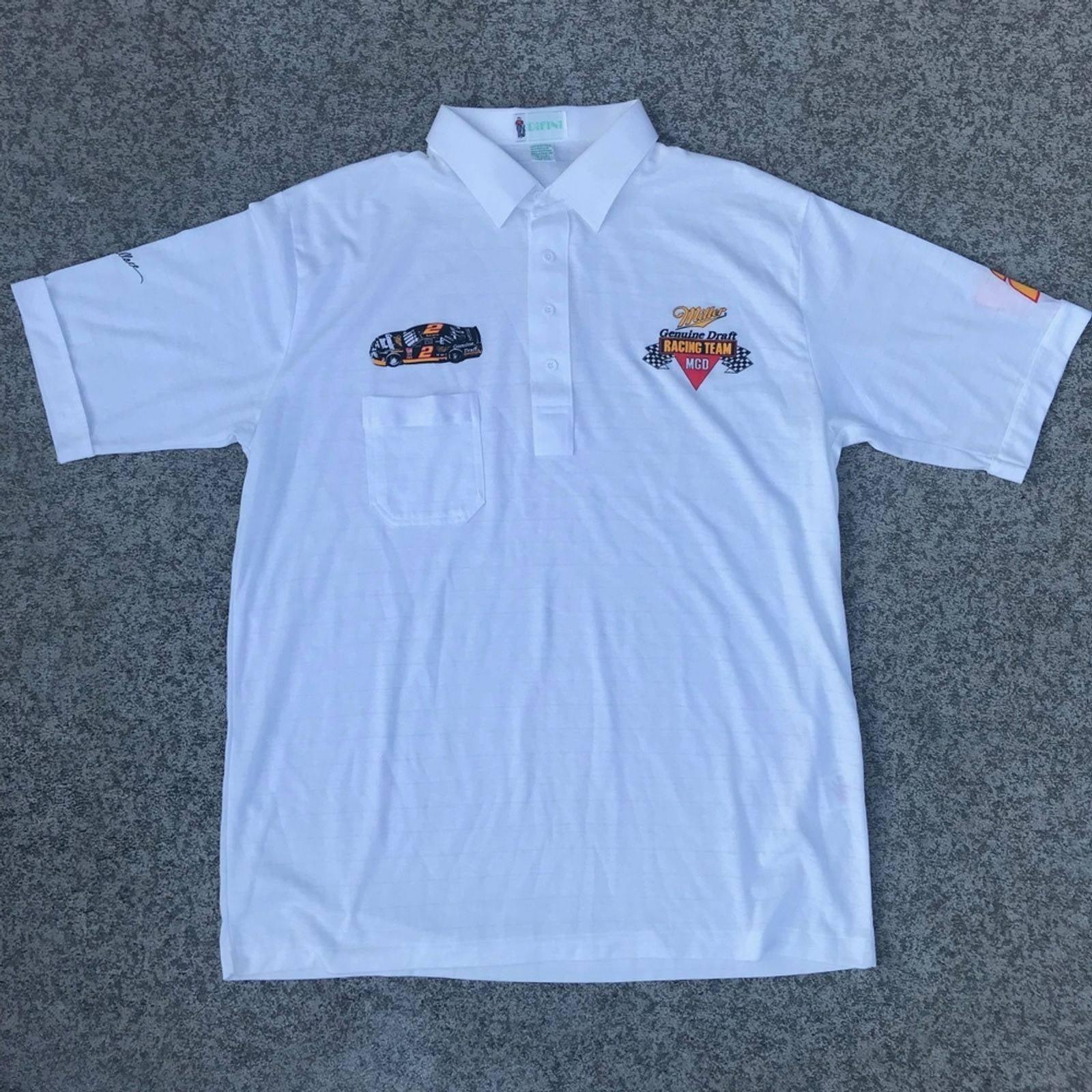 Rusty Wallace 1990's Racing Polo Shirt