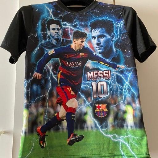 Soccer T-Shirt Barcelona messi boys