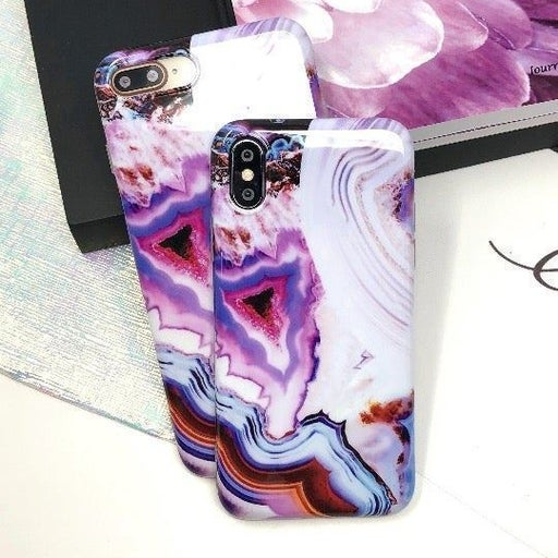 New iPhone Xs Max Abstract Marble Case