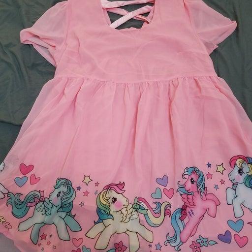 Dolls Kill dollskill 2x dress nwt