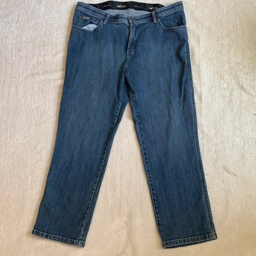 Lee comfort straight leg jeans size 16