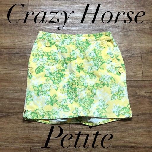 Crazy Horse Petite Skort Size 6