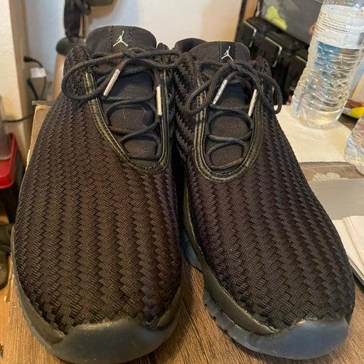 Jordan future low gama blue sneakers