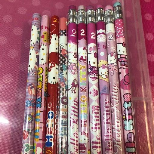 10 pencil set all Hello Kitty