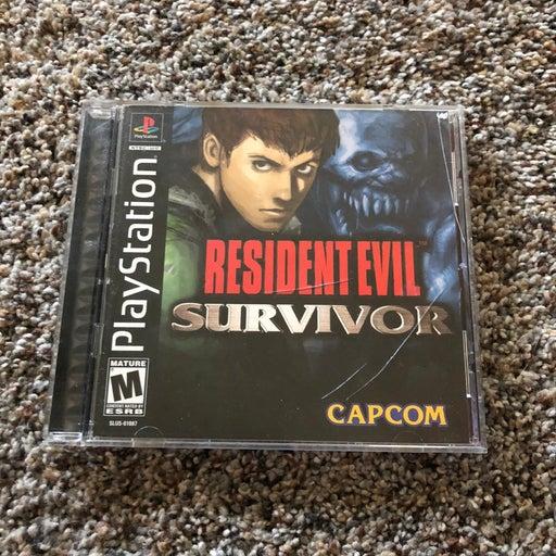 Resident Evil Survivor on Playstation 1
