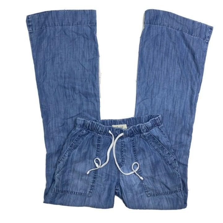 Bella Dahl Lounge Pants Tencel Chambray