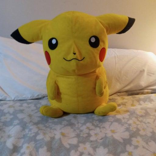 Large Pikachu Plush
