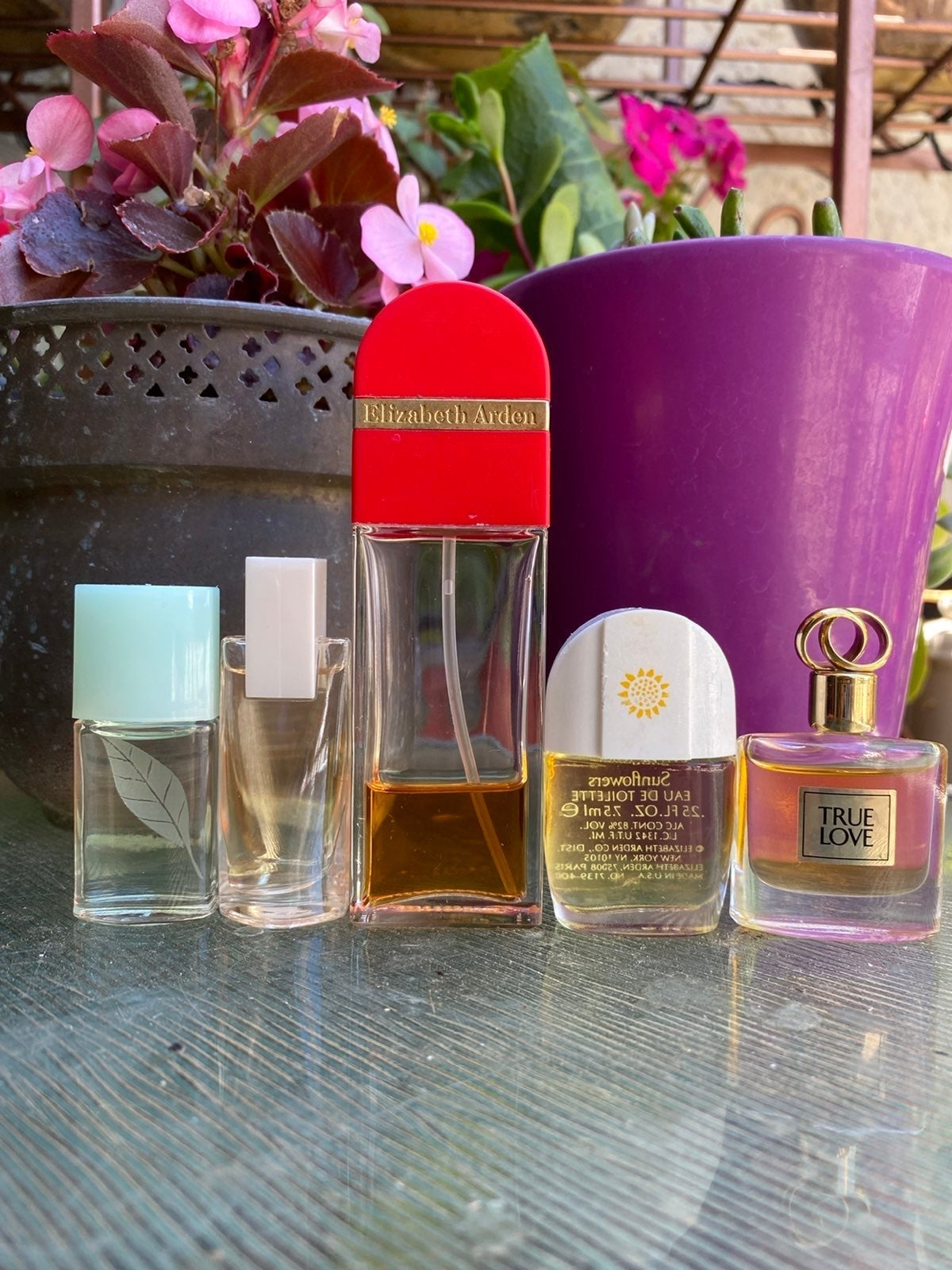 4 NEW Elizabeth Arden Mini Perfumes LOT