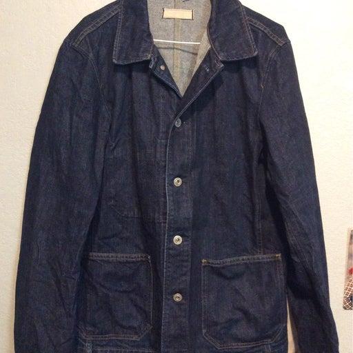 Uniqlo denim chore jacket