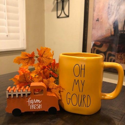 """Oh My Gourd"" Rae Dunn Mug"