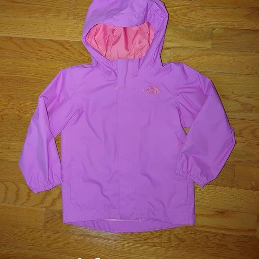 Nirthface girls windbreaker jacket