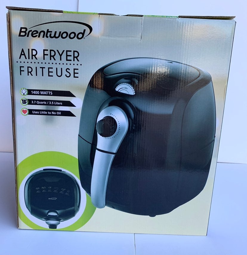 Brentwood 3.7Qt Electric Air Fr