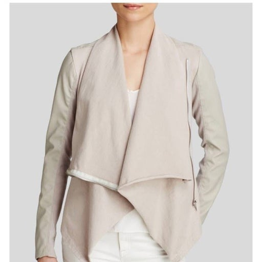 BLANK NYC Private Practice Wrap Jacket
