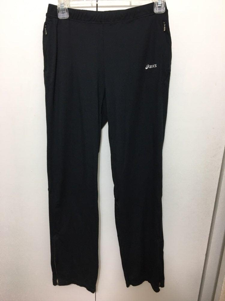 Ladies Asics Black Active Wear Pants~Med