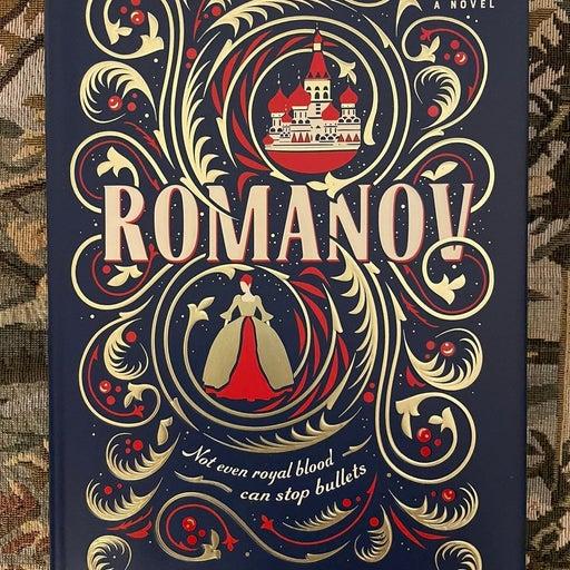 Romaniv signed book.