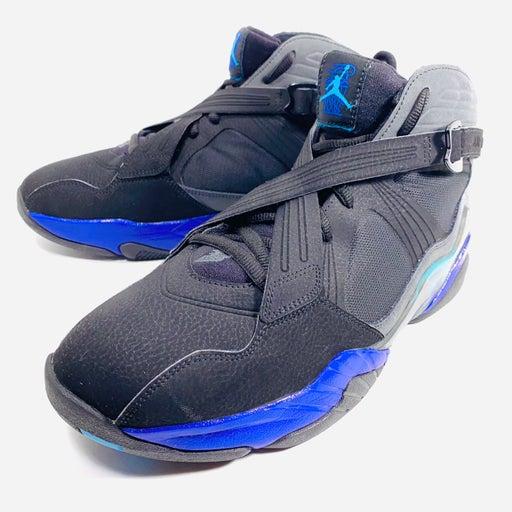 Nike Air Jordan 8.0 Aqua Black Purple 467807-009 Size 11 Retro Basketball Shoes