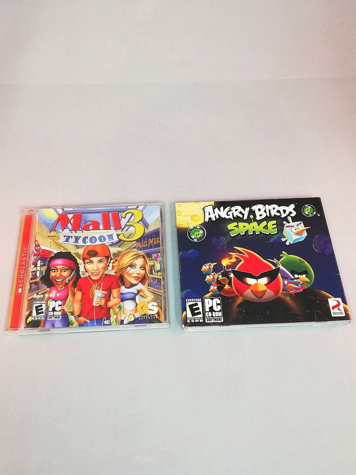 PC Video Game Lot 2 PC Games Mall Tycoon