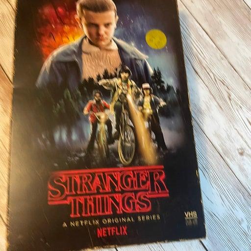 Stranger Things Season 1 Blu-Ray and Dvd