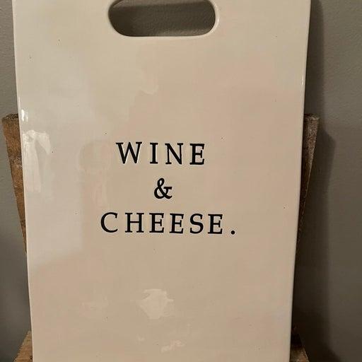 Retired Cheese & Wine board
