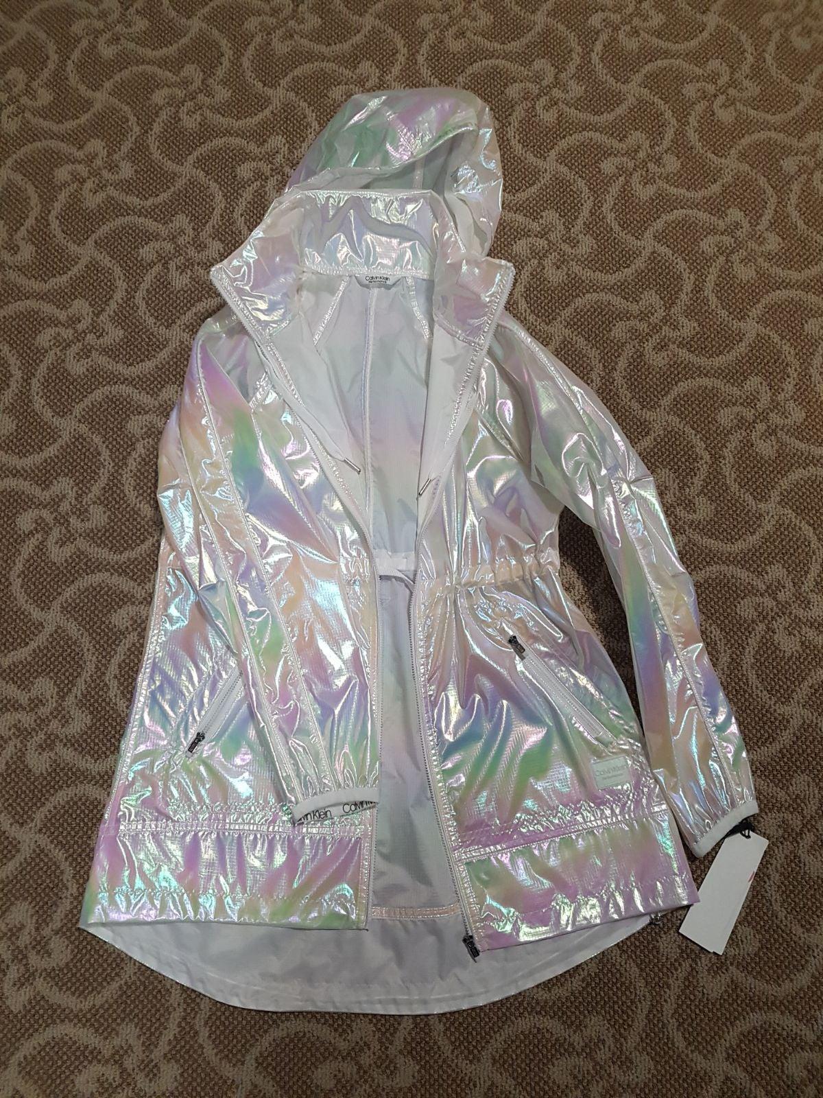 Calvin Klein lightweight raincoats size