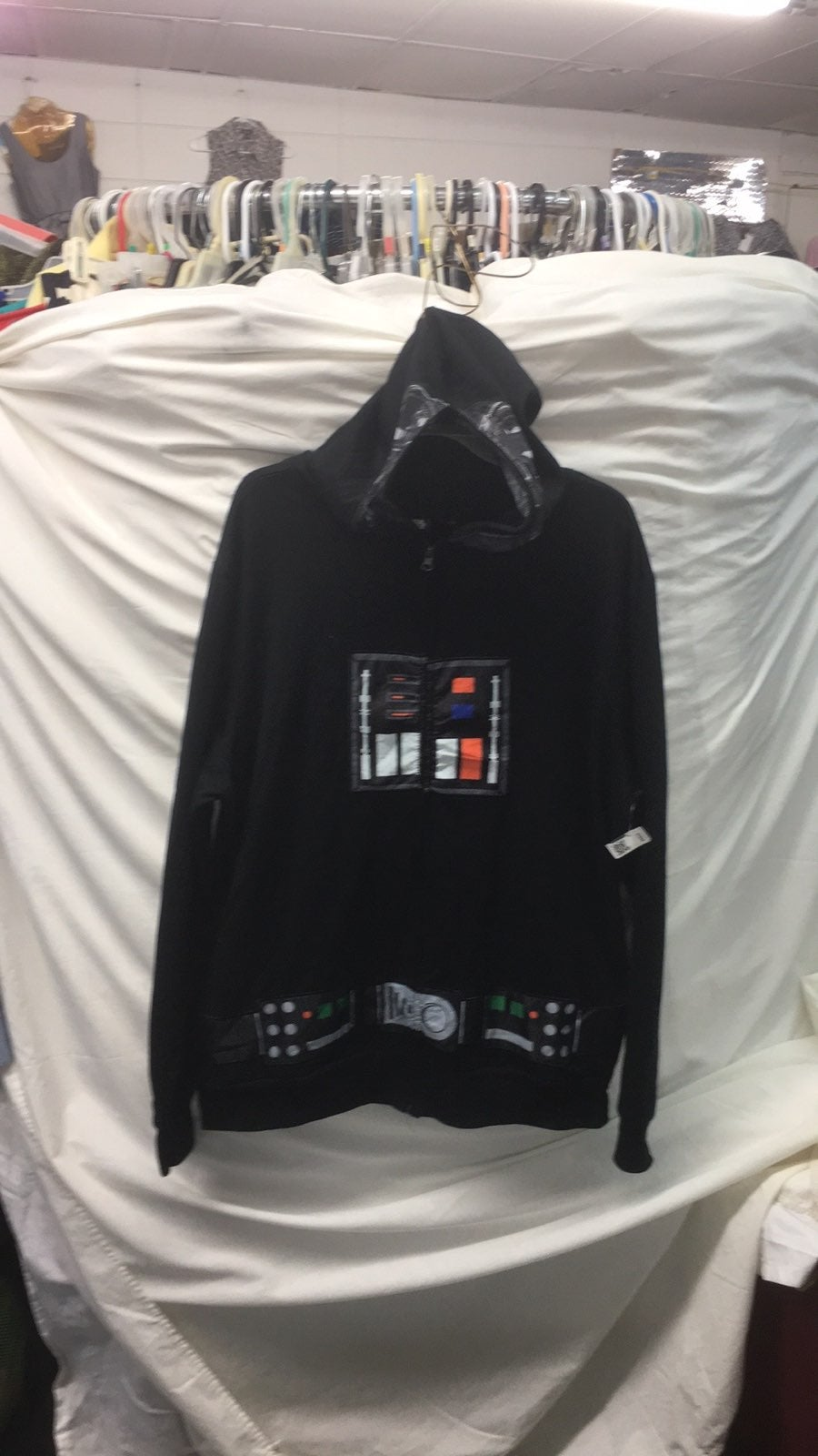 Star wars full hoodie men sz xl new