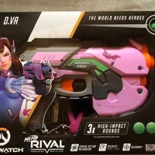 Overwatch D. VA Nerf Blaster