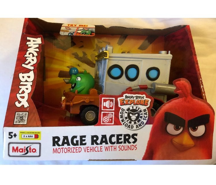 Angry birds Rage Racers motorized vehicl