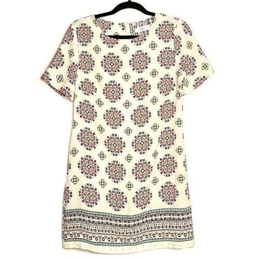 OVI dress, Multicolored Aztec pattern, M