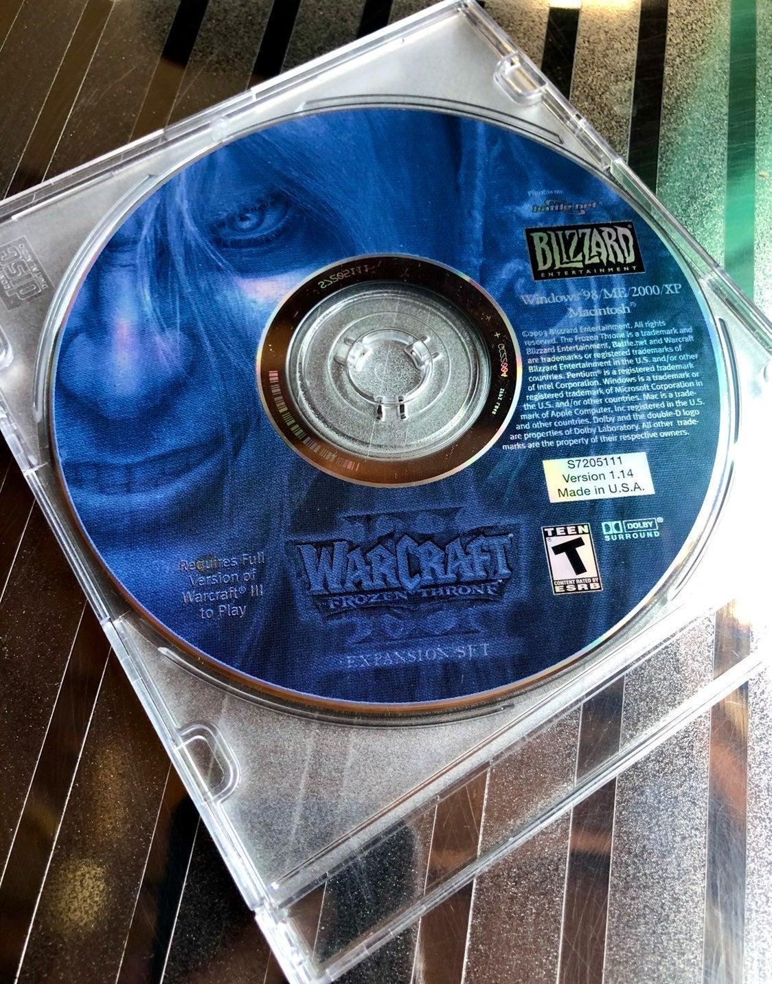 Warcraft Frozen Throne Expansion Set
