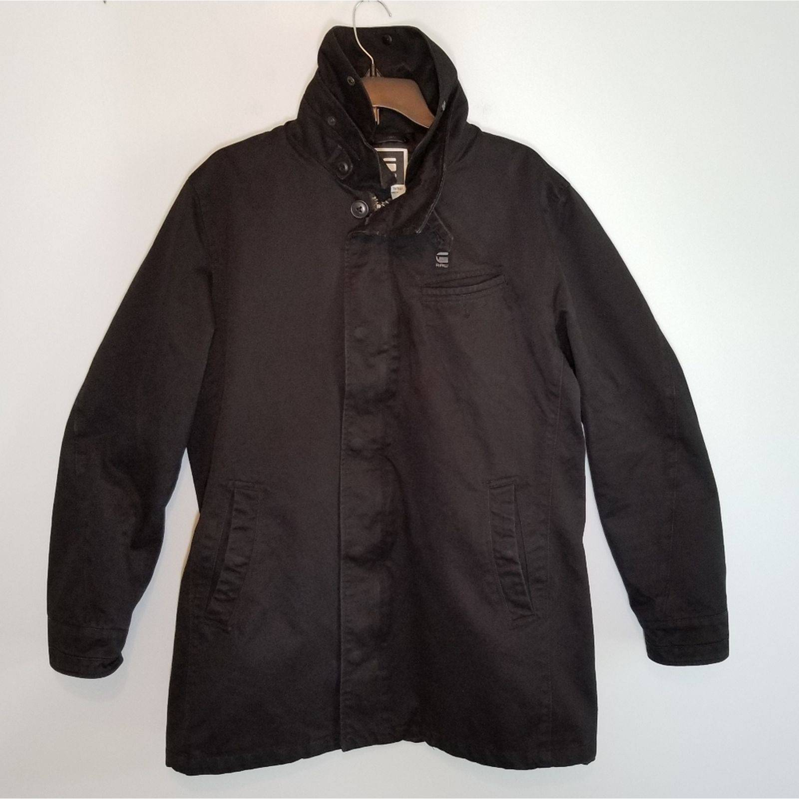 G-Star Raw jacket men's black size XXL