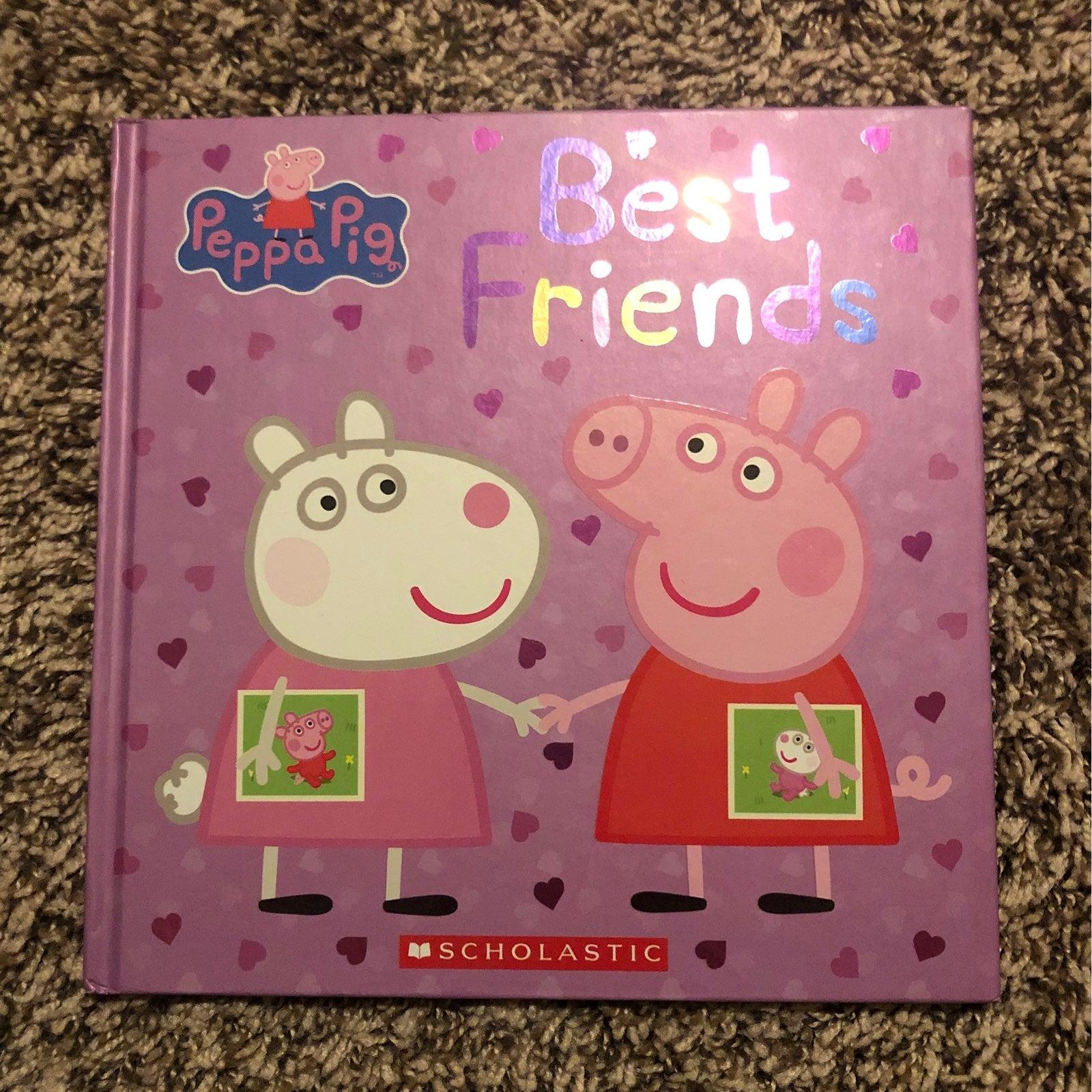PEPPA BEST FRIENDS BOOK