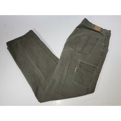 Columbia River Lodge Olive Hunting Camping Work Pant Mens Size 32 - Preowned