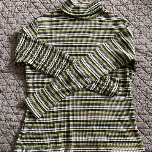 Vintage green Turtleneck medium