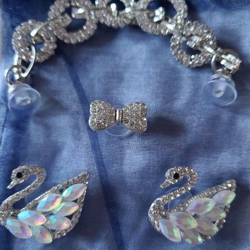 CROCS BLING FAUX Diamonds Charms Set
