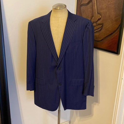 Canali navy mens suit