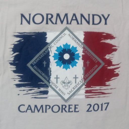 Boy Scouts Normandy Camporee t shirt