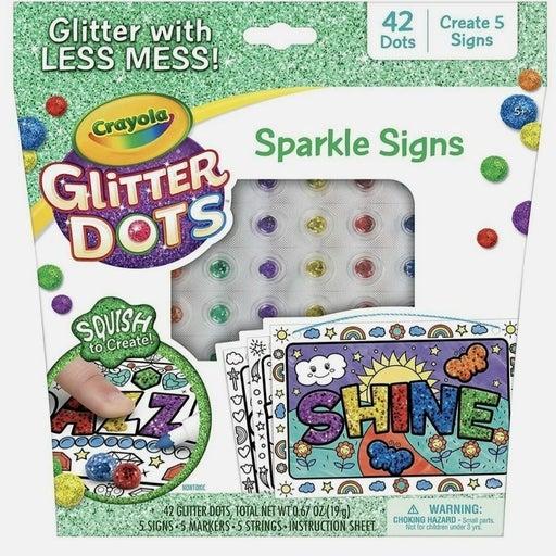 Crayola Glitter Dots Sparkle 42 Count Gl