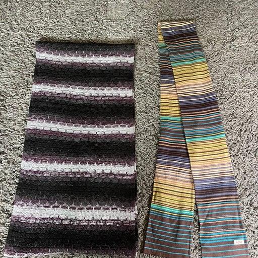 Calvin Klein Scarf Wrap 1sz Echo Scarf Stripes