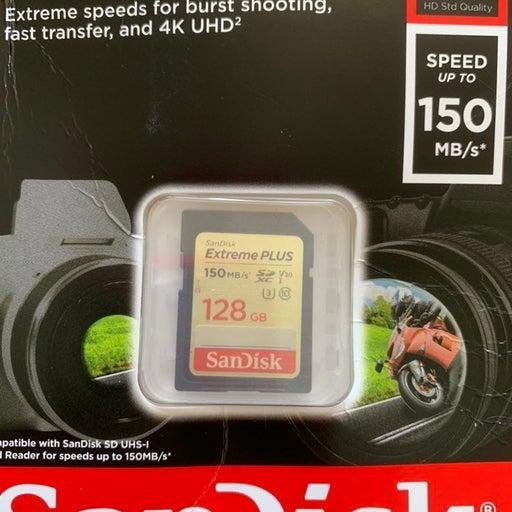 Sandisk extreme plus sdxc 128gb