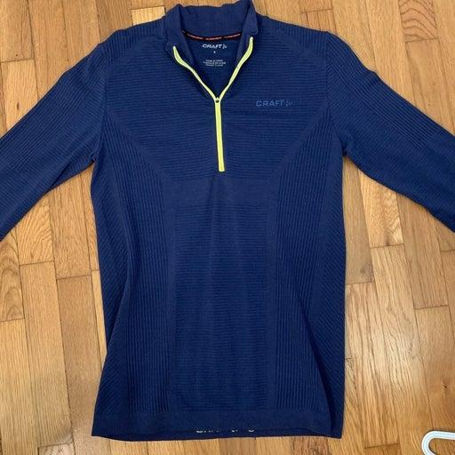 Blue running jacket