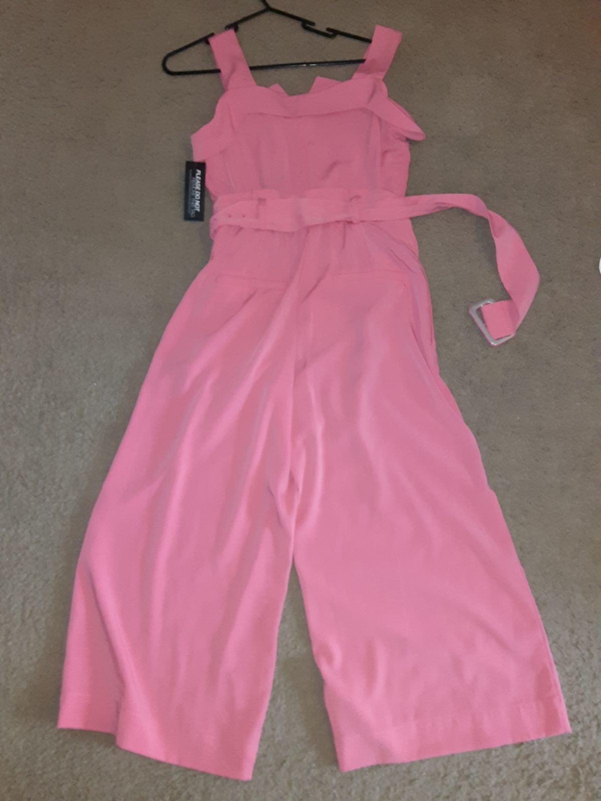 Gabrielle Union pink jumpsuit...XS