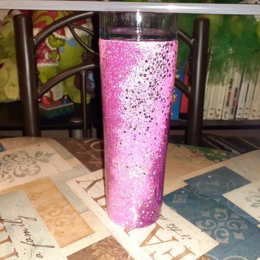 16 oz. Pink Tumbler