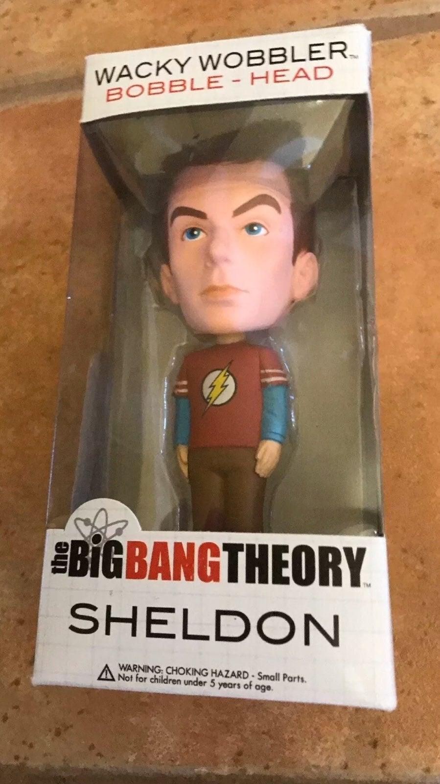 NIB Funko Big Bang Theory Sheldon Wacky